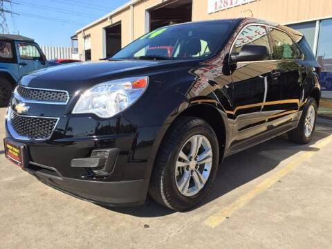2014 Chevrolet Equinox for sale at Market Street Auto Sales INC in Houston TX