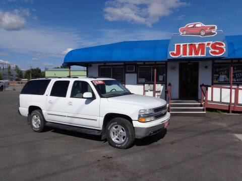 2004 Chevrolet Suburban for sale at Jim's Cars by Priced-Rite Auto Sales in Missoula MT