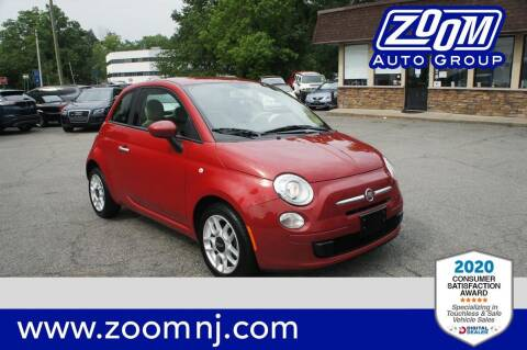 2012 FIAT 500 for sale at Zoom Auto Group in Parsippany NJ