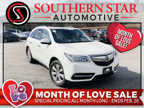 2015 Acura MDX for sale at Southern Star Automotive, Inc. in Duluth GA