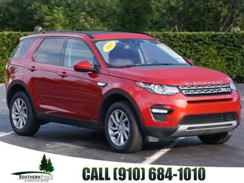 2018 Land Rover Discovery Sport for sale at PHIL SMITH AUTOMOTIVE GROUP - Pinehurst Nissan Kia in Southern Pines NC