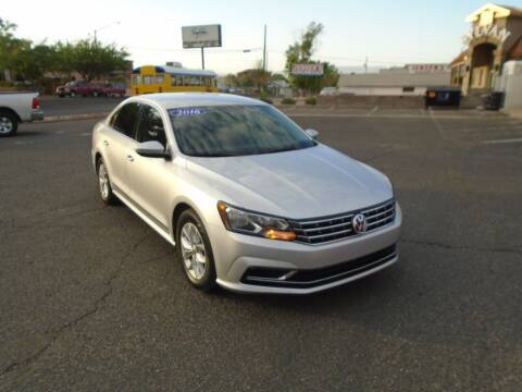 2016 Volkswagen Passat for sale at Team D Auto Sales in St George UT