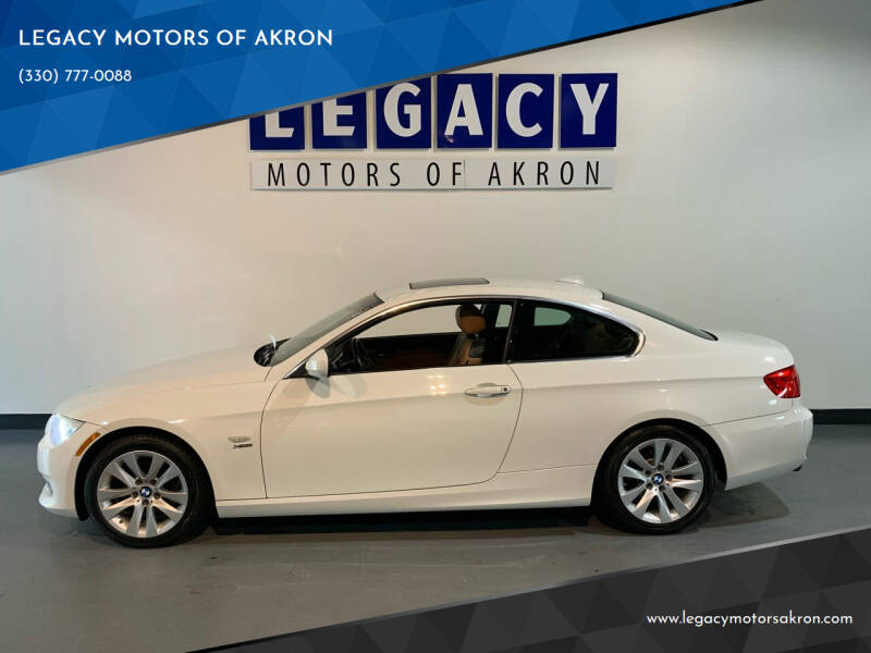 2013 BMW 3 Series for sale at LEGACY MOTORS OF AKRON in Akron OH