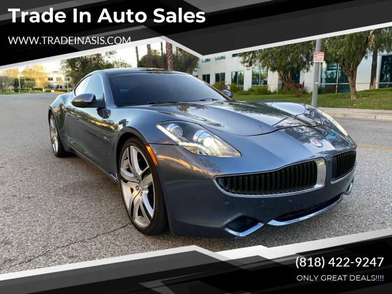 2012 Fisker Karma for sale at Trade In Auto Sales in Van Nuys CA