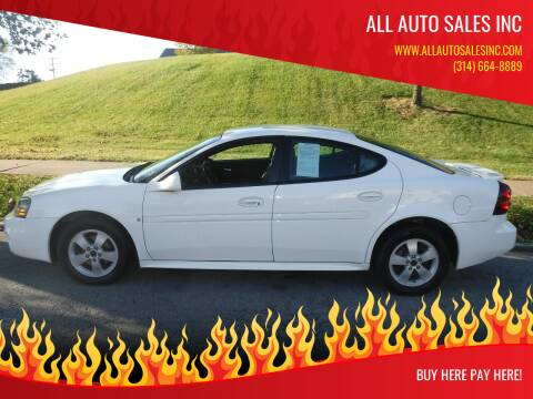 2006 Pontiac Grand Prix for sale at ALL Auto Sales Inc in Saint Louis MO