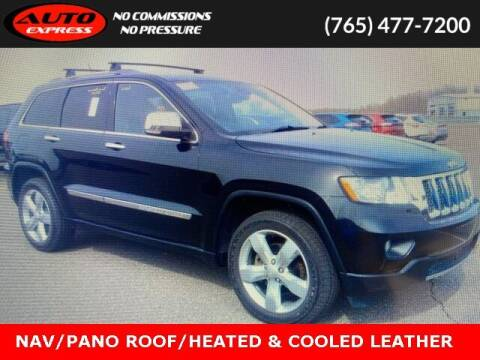 2012 Jeep Grand Cherokee for sale at Auto Express in Lafayette IN