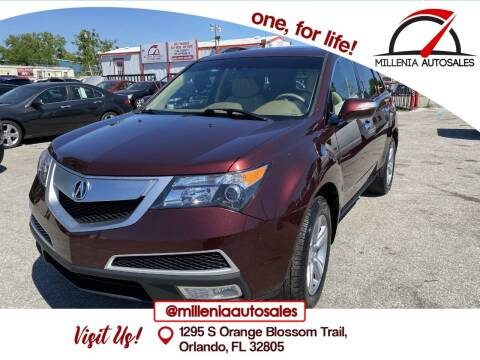2013 Acura MDX for sale at Millenia Auto Sales in Orlando FL