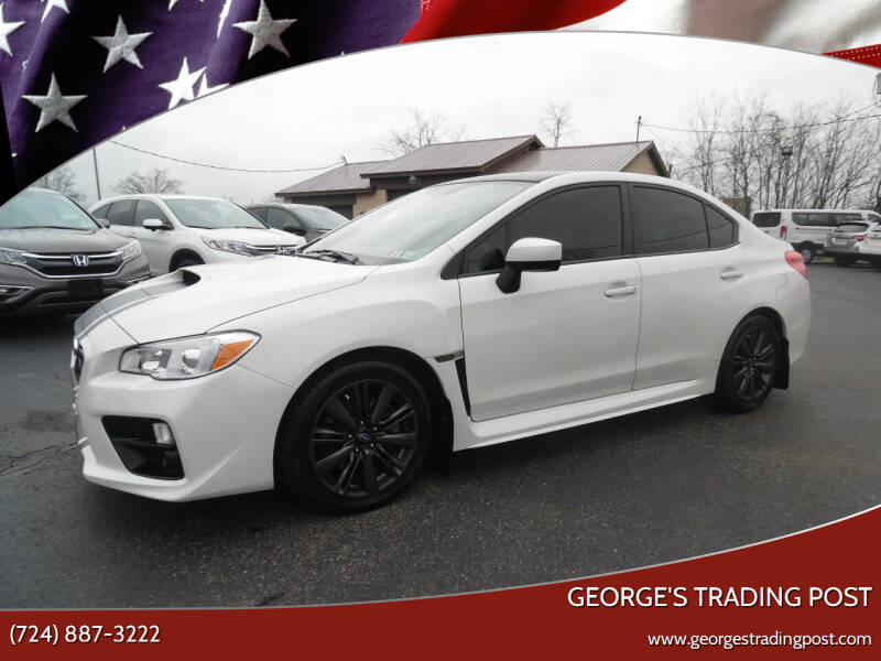 2017 Subaru WRX for sale at GEORGE'S TRADING POST in Scottdale PA
