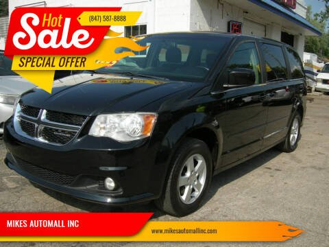 2012 Dodge Grand Caravan for sale at MIKES AUTOMALL INC in Ingleside IL