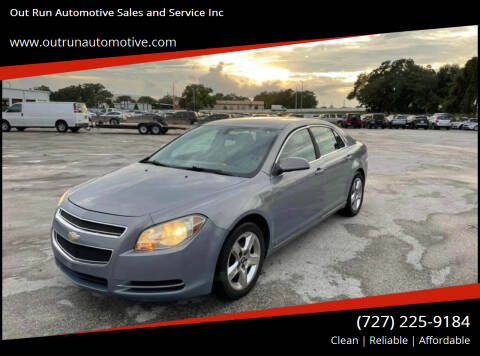 2009 Chevrolet Malibu for sale at Out Run Automotive Sales and Service Inc in Tampa FL