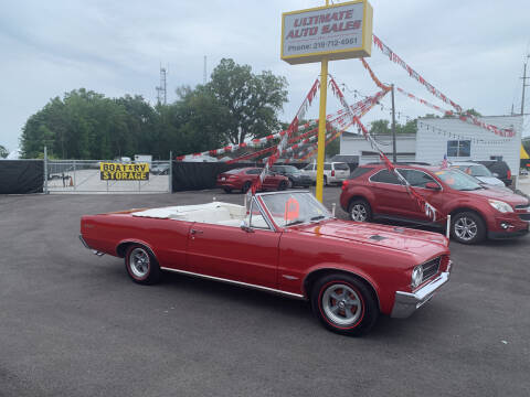 1964 Pontiac GTO for sale at Ultimate Auto Sales in Crown Point IN
