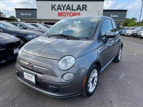 2012 FIAT 500 for sale at KAYALAR MOTORS in Houston TX