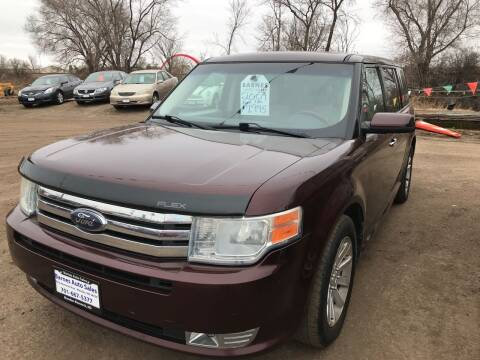 2009 Ford Flex for sale at BARNES AUTO SALES in Mandan ND