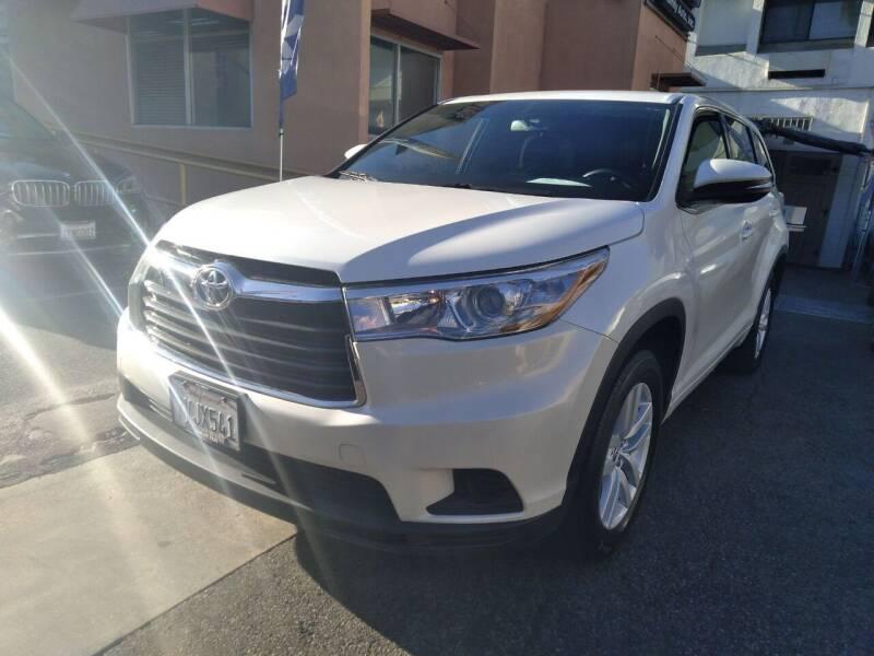 2016 Toyota Highlander for sale at Western Motors Inc in Los Angeles CA
