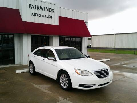 2013 Chrysler 200 for sale at Fairwinds Auto Sales in Dewitt AR