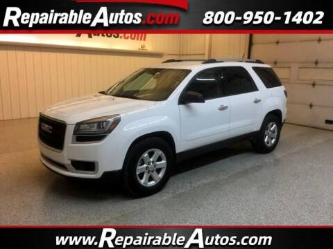 2016 GMC Acadia for sale at Ken's Auto in Strasburg ND