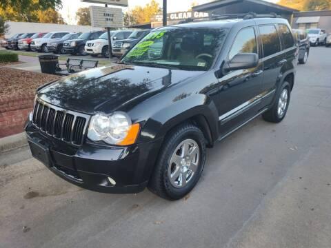 2009 Jeep Grand Cherokee for sale at DON BAILEY AUTO SALES in Phenix City AL