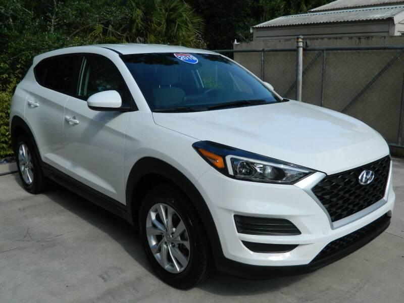 2019 Hyundai Tucson for sale at Jeff's Auto Sales & Service in Port Charlotte FL