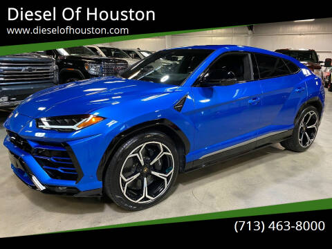 2020 Lamborghini Urus for sale at Diesel Of Houston in Houston TX
