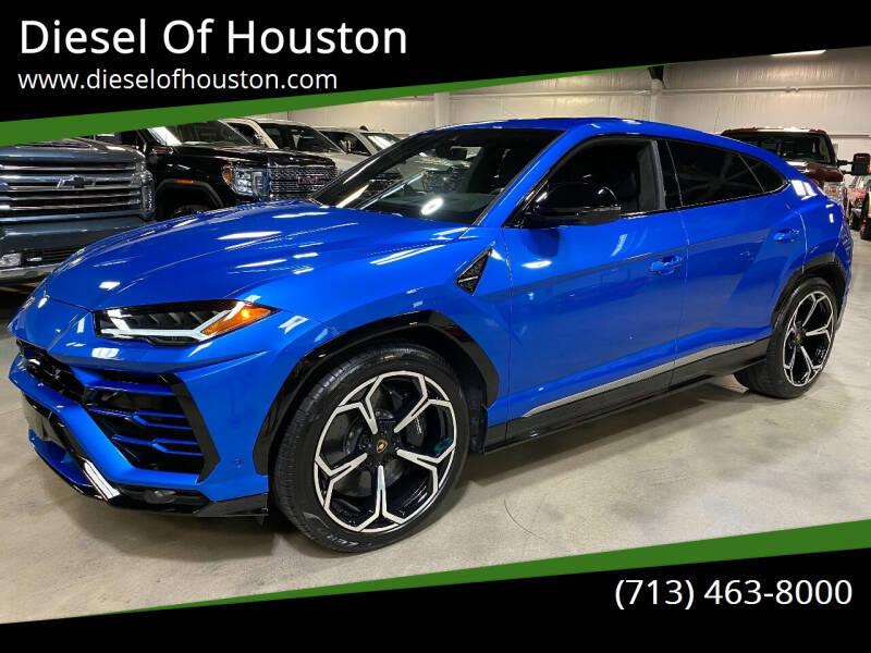 2020 Lamborghini Urus for sale at Diesel Of Houston in Houston TX