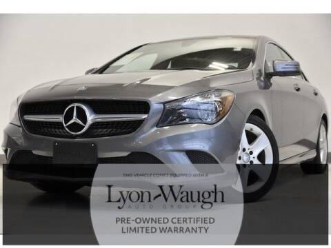 2016 Mercedes-Benz CLA for sale at Mercedes Benz of Burlington in Burlington MA
