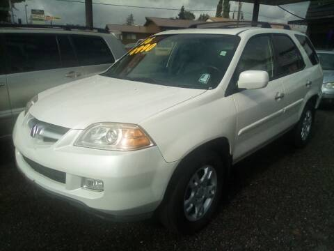 2006 Acura MDX for sale at Payless Car & Truck Sales in Mount Vernon WA
