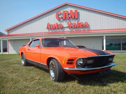 1970 Ford Mustang for sale at Custom Rods and Muscle in Celina OH
