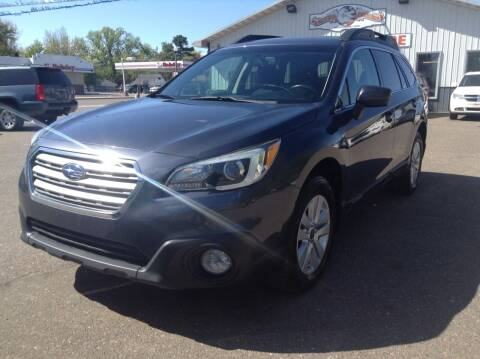 2015 Subaru Outback for sale at Steves Auto Sales in Cambridge MN