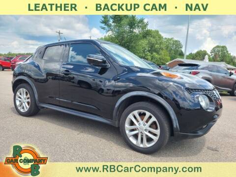 2016 Nissan JUKE for sale at R & B Car Co in Warsaw IN