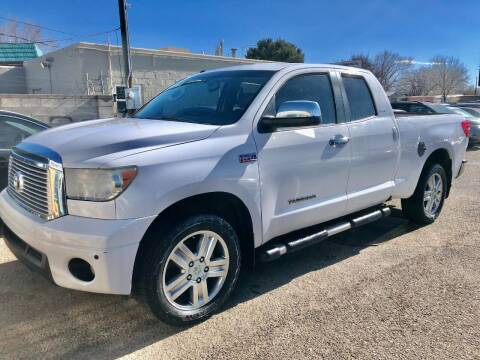 2013 Toyota Tundra for sale at Top Gun Auto Sales, LLC in Albuquerque NM