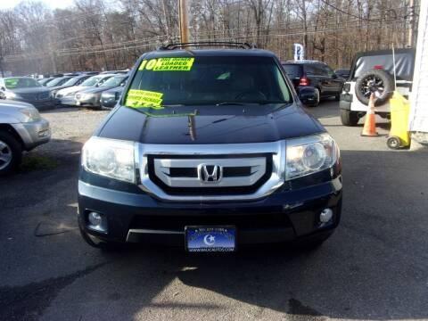 2010 Honda Pilot for sale at Balic Autos Inc in Lanham MD