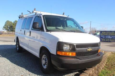 2017 Chevrolet Express Cargo for sale at Auto Connection 210 LLC in Angier NC