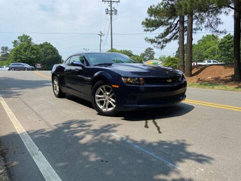 2015 Chevrolet Camaro for sale at THE AUTO FINDERS in Durham NC