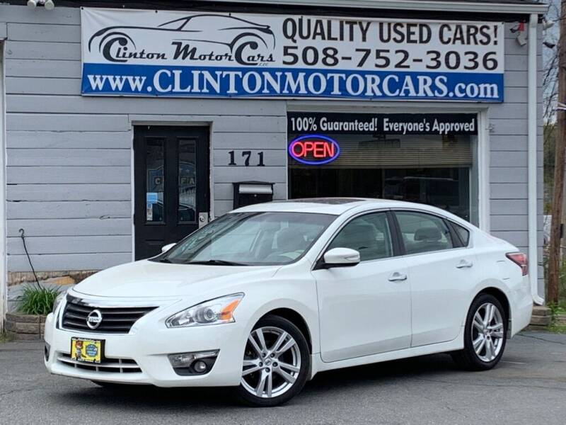 2014 Nissan Altima for sale at Clinton MotorCars in Shrewsbury MA