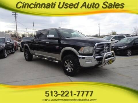 2010 Dodge Ram Pickup 2500 for sale at Cincinnati Used Auto Sales in Cincinnati OH