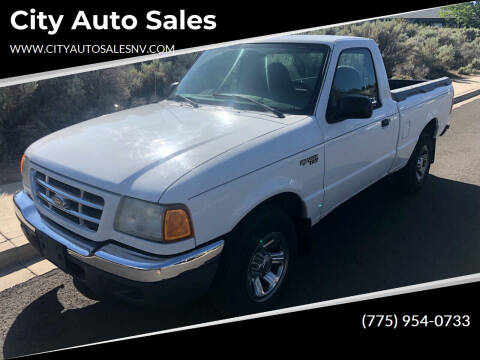 2001 Ford Ranger for sale at City Auto Sales in Sparks NV