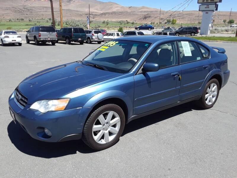 2007 Subaru Outback for sale at Super Sport Motors LLC in Carson City NV