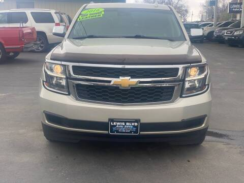 2016 Chevrolet Tahoe for sale at Lewis Blvd Auto Sales in Sioux City IA