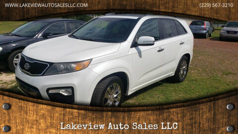 2012 Kia Sorento for sale at Lakeview Auto Sales LLC in Sycamore GA