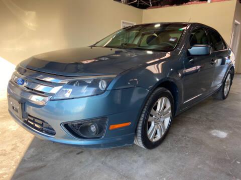 2011 Ford Fusion for sale at Safe Trip Auto Sales in Dallas TX