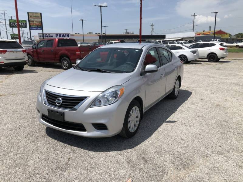 2014 Nissan Versa for sale in Garland, TX