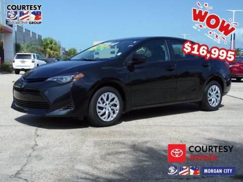2019 Toyota Corolla for sale at Courtesy Toyota & Ford in Morgan City LA