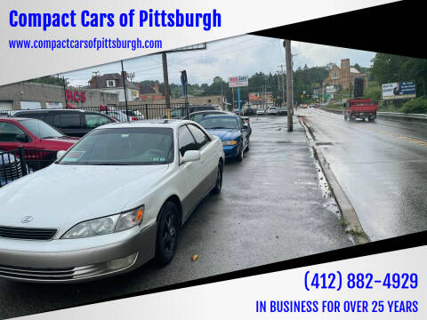 1999 Lexus ES 300 for sale at Compact Cars of Pittsburgh in Pittsburgh PA
