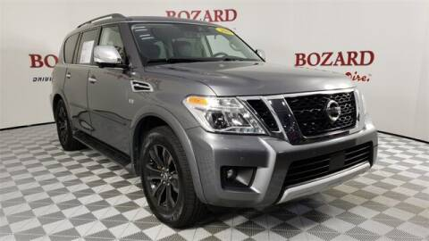 2018 Nissan Armada for sale at BOZARD FORD in Saint Augustine FL