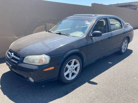 2002 Nissan Maxima for sale at Blue Line Auto Group in Portland OR