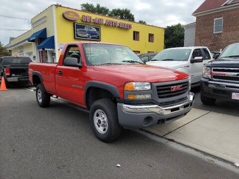 2003 GMC Sierra 2500HD for sale at Bel Air Auto Sales in Milford CT