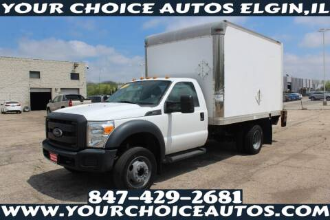 2015 Ford F-450 Super Duty for sale at Your Choice Autos - Elgin in Elgin IL