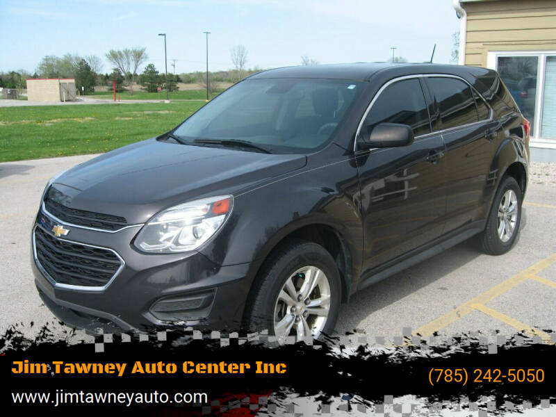 2016 Chevrolet Equinox for sale at Jim Tawney Auto Center Inc in Ottawa KS