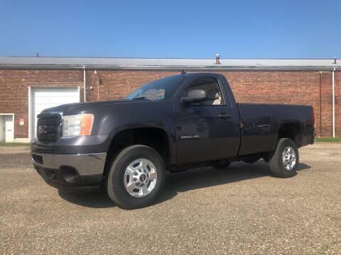 2011 GMC Sierra 2500HD for sale at Jim's Hometown Auto Sales LLC in Byesville OH