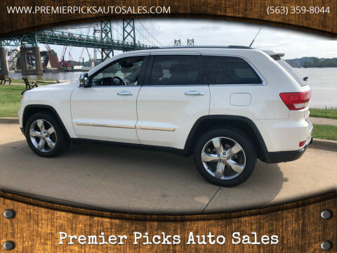 2011 Jeep Grand Cherokee for sale at Premier Picks Auto Sales in Bettendorf IA